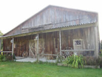 Rustic location for photoshoots