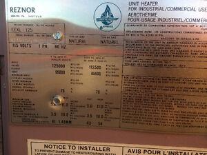 Fournaise (Aérotherme) au gaz Reznor Saint-Hyacinthe Québec image 4