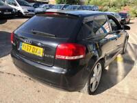 Audi A3 2.0TDI S Line 3 DOOR - 2007 57-REG - 7 MONTHS MOT