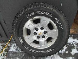 Aluminum Rims With Tires