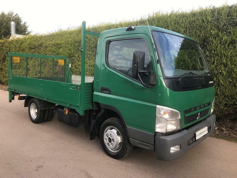2010 Mitsubishi Fuso Canter 3 5T 3C13 MWB DROPSIDE FLATBED TRUCK - TAIL  LIFT   in Melton Mowbray, Leicestershire   Gumtree