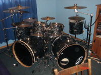 8 Pc Maple PDP Kit w/ Hardware & Cymbals!
