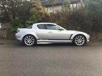 2007 57 MAZDA RX8 231 6 SPEED SPORT PACK SILVER 1 OWNER FROM NEW 10000 MILES