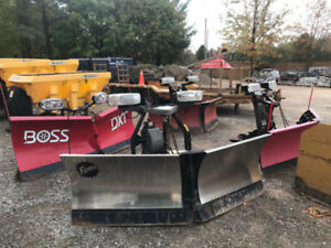 Snow Plow x4 - All Hydraulic V Blades