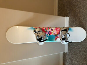 Snowboard, Boots, Bindings and Bag