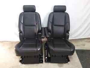 Escalade Black LEATHER 2nd Row Bucket Seats