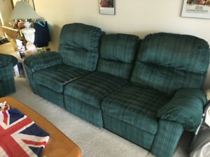 Couch and love seat set for sale