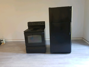 Refrigerator and oven  for $300 together