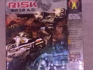 Risk 2210 A.D. GOOD CONDITION