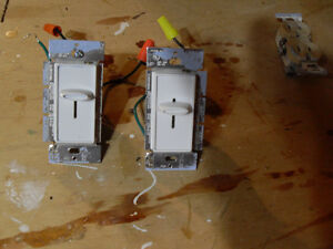 sliding dimmer switches