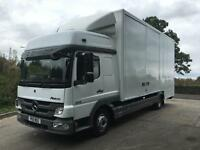 2011 Mercedes-Benz Atego 816 Euro5 21ft dropwell removal body, side doors