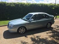 HYUNDAI ACCENT 1.6 CDX 2004. AUTOMATIC 1 OWNER VERY LOW MILES 55k WITH FULL HISTORY..1 YEARS MOT