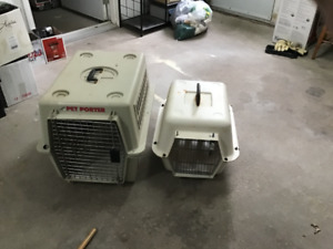 Dog and/or cat carrying crates