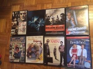 Variety of DVDs • 50 Cents Each
