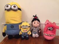 Official despicable me cuddly toys