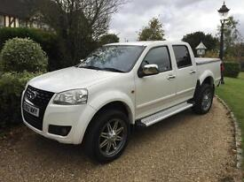GREAT WALL STEED SE 2.0TD 4X4 DOUBLE CAB PICK UP 62 REG