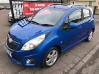 2010 CHEVROLET SPARK LT, £20 ROAD TAX, NOT CORSA YARIS MICRA AYGO 107 C1 CLIO