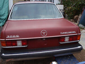 1982 Mercedes-Benz 300-Series Sedan Turbo diesel