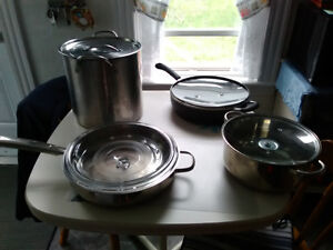 pots and pans for sale