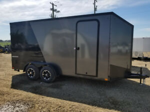 TAXES INCLUDED Impact Trailers HD 7x16 enclosed cargo trailer
