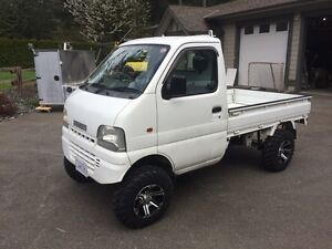 2001 Suzuki Carry 4x4 Japanese mini truck