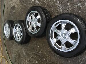 Used MPW aloy wheels and tires