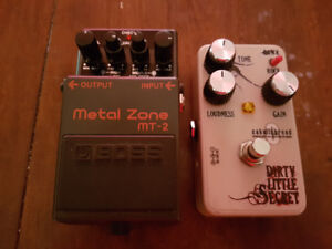 Couple pedals