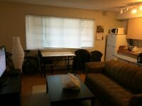 Bright, clean studio for June - July in Mount Royal (SW)