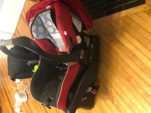 Britax B-safe Infant Car seat (Bob Stoller adaptable) for Sale