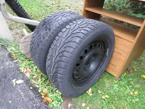 4 GM Winter Tires on Rims - Reduced Cambridge Kitchener Area image 4
