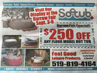 Softub, Hot tub, Harrow Fair 2015
