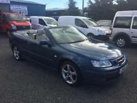 Saab 9-3 vector 2.0 diesel auto convertible 2006 56 Reg full leather air con