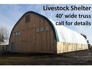 Livestock shelters/Greenhouse / Salt Bin Covers / Equip Storage Peterborough Peterborough Area image 4