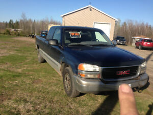 2000 GMC extended cab long box
