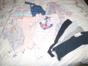 Girl Clothing Size 6 -9 months