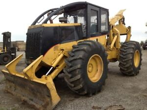 CAT 525 Grapple Skidder with New Tires