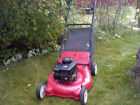 3.5 HP Rear bag Lawnmower
