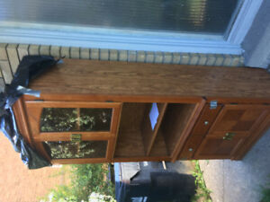 Wood cabinet for sale!!!
