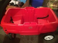 Red wagon excellent condition