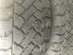 4 Winter Tires 205 - 55 - 16 With Rims For GM