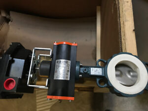 actuator / air butterfly valve  new