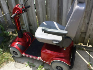 PRIDE VICTORY MOBILITY SCOOTER/EXC.CON/GOOD BATTERIES