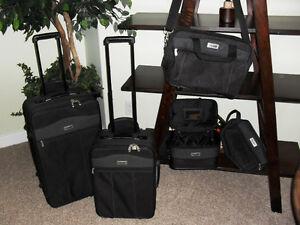 5 pc Jaguar Luggage Set