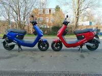 Brand new NIU MQI Plus electric scooter 50cc equivalent learner legal MQI+