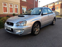 Subaru Impreza WRX (silver) 2003