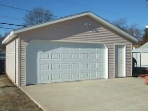 LARGE DOUBLE HEATED GARAGE-OCT1-$690-THICKWOOD-(780)-742-6039