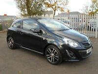2013 Vauxhall Corsa 1.4 i 16v Black Edition 3dr (start/stop, a/c)