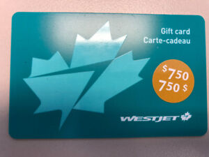 Carte Cadeau Westjet.Cartes Cadeau Kijiji In Ontario Buy Sell Save With