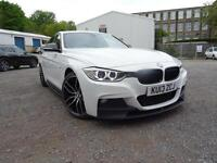 2013 BMW 320D M SPORT 4DR+GENUINE M PERFORMANCE BODYKIT+LOW RATE FINANCE 3.99%