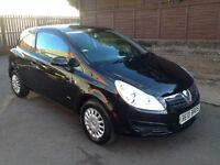 2009 (09) Vauxhall Corsa 1.0i 12v Life 3 Door Hatchback Petrol Manual